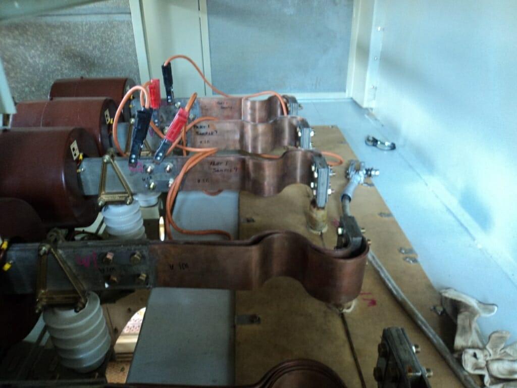 Copper foil connector