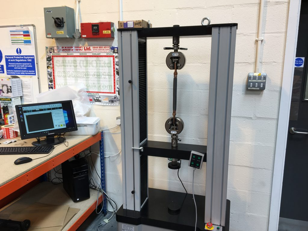 WDW 50 tensile test machine